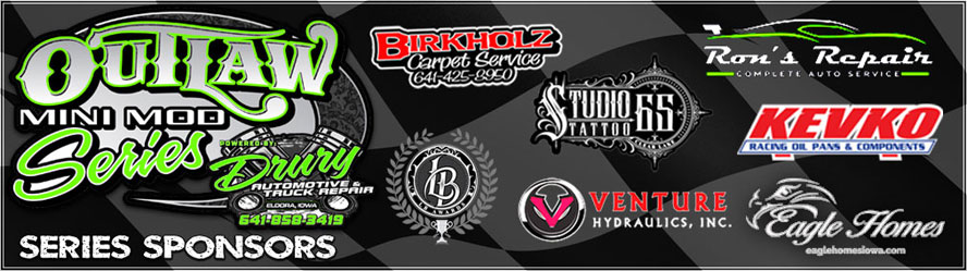 Outlaw Mini Mod Series Title Sponsors